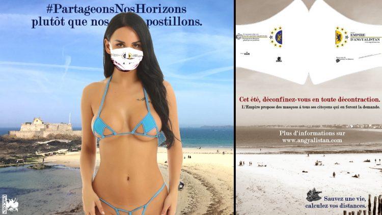 Campagne animée - Partageons nos horizons plutôt que nos potillons