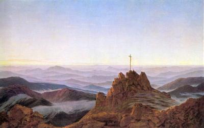 Caspar David Friedric, Morgen im Riesengebirge