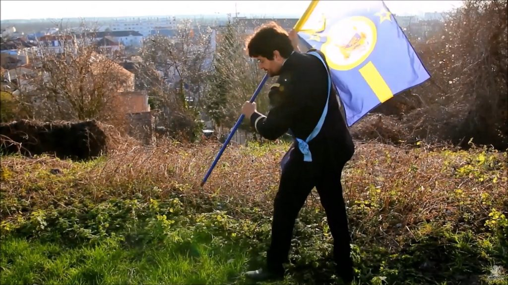Planté de drapeau