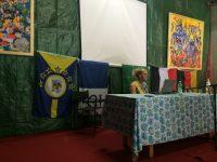Le drapeau angyalistanais à l'honneur pendant les lectures