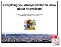 Présentation de l'Empire d'Angyalistan (en anglais) - Polination 2015