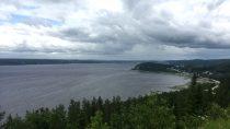Baie de la Rivière des Outardes, Saint-Fulgence | 48°27' N, 70°55' W | MMXIX, juillet © S.M.I. Olivier